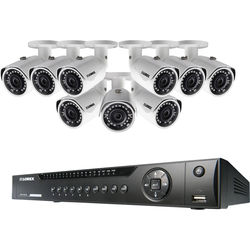 Lorex by FLIR 16-Channel 4MP NVR with 3TB HDD and 9 3MP Outdoor Bullet Cameras