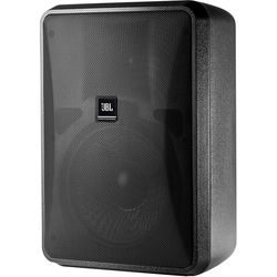 """JBL Control 28-1L 8"""" High-Output 8-Ohm 2-Way Indoor/Outdoor Speaker (Pair, Black)"""