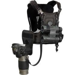 Cotton Carrier CCS Binocular and Camera Harness (Black)
