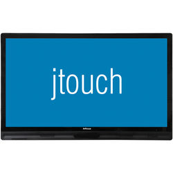 """InFocus JTouch 65"""" LED-Backlit Capacitive Touch Display with Anti-Glare Coating (K-12 Only)"""