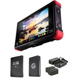 Atomos Ninja Flame with 512GB G-Technology SSD Kit