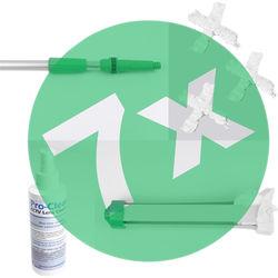 Dotworkz DW-PKG7PAK DomeCleaner Lens Cleaning Package Pro Kit (7-Pack)