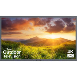 "SunBriteTV Signature 65"" Class UHD Outdoor LED TV (Silver)"