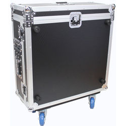 ProX Hard Road Case for Behringer X32 Compact Mixer with Doghouse and Wheels