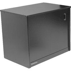 Omnirax 14-Space Rack Cabinet & Computer Cubby with Door