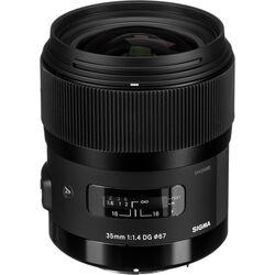 Sigma 35mm f/1.4 DG HSM Art Lens for Pentax DSLR Cameras