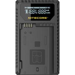 Nitecore UNK1 Dual-Slot USB Travel Charger for Nikon EN-EL14, EN-EL14a, and EN-EL15 Lithium-Ion Batteries