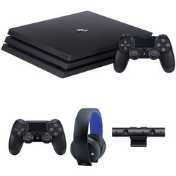 Sony PlayStation 4 Pro Gaming Console Kit with PlayStation 4 Camera & Extra Accessories