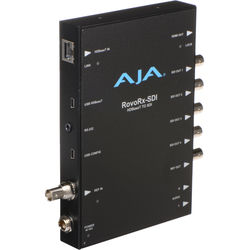 AJA UltraHD/HD HDBaseT Receiver with 6G/3G-SDI & HDMI Outputs for RovoCam Camera