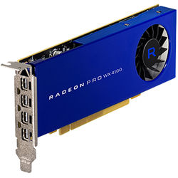 AMD Radeon Pro WX 4100 Graphics Card