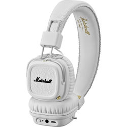 Marshall Audio Major II Bluetooth Headphones (White)