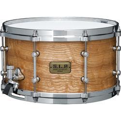"TAMA S.L.P. Series LGM137STA G-Maple Snare Drum (7 x 13"", Satin Tamo Ash)"