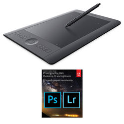 Wacom Intuos Pro Professional Pen & Touch Tablet with Adobe Creative Cloud Kit