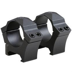 "SIG SAUER Alpha Hunting Mount Rings (1"", Steel, High, Black)"