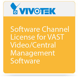 Vivotek Software Channel License for VAST Video/Central Management Software