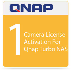 QNAP 1 Camera License Activation For Qnap Turbo NAS