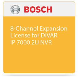Bosch 8-Channel Expansion License for DIVAR IP 7000 2U NVR