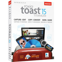 Corel Toast 15 Titanium for Mac