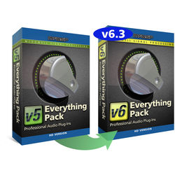 McDSP Everything Pack HD v5 to v6.3 Upgrade - Music Production Plug-In Bundle (Download)