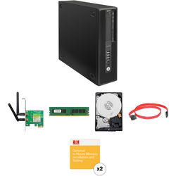HP Z240 Series Small Form Factor Turnkey Workstation with 16GB RAM, 4TB HDD, and Wireless N Adapter