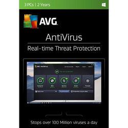 AVG AntiVirus 2017 (3 Users, 2-Year License, Download)