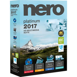 Nero 2017 Platinum (Boxed)