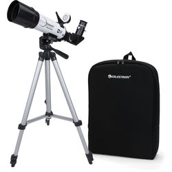 Celestron EclipSmart 50 50mm f/7.2 Alt-Az Solar Telescope with Backpack