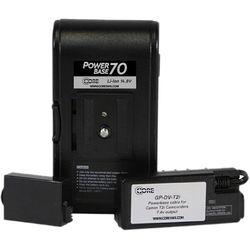 "Core SWX PowerBase 70 Battery for Canon LP-E8 Cameras (12"" Cable)"
