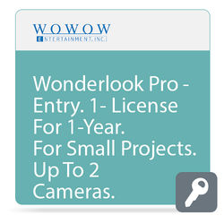 WOWOW Entertainment WonderLook Pro (1-Year Entry License, Download)