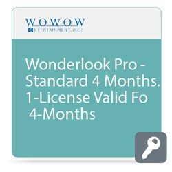 WOWOW Entertainment WonderLook Pro (4-Month Standard License, Download)