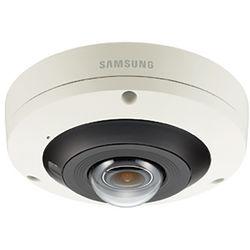 Hanwha Techwin Wisenet P 12MP Outdoor Fisheye Camera with Night Vision