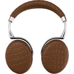 Parrot Zik 3.0 Stereo Bluetooth Headphones & Wireless Charger (Brown, Croc)