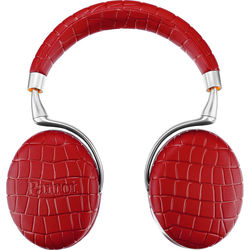 Parrot Zik 3.0 Stereo Bluetooth Headphones & Wireless Charger (Red, Croc)