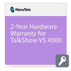 NewTek 2-Year Hardware Warranty for TalkShow VS 4000