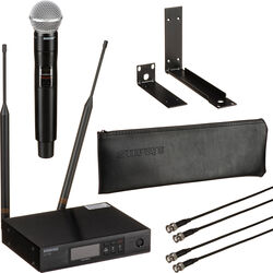 Shure QLXD24/SM58 VHF Handheld Wireless Microphone System (V50: 174 to 216 MHz)