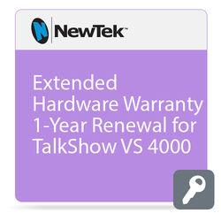 NewTek Extended Hardware Warranty for TalkShow VS 4000