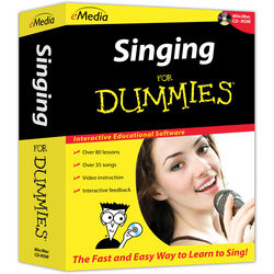eMedia Music Singing For Dummies (Electronic Download, Windows)