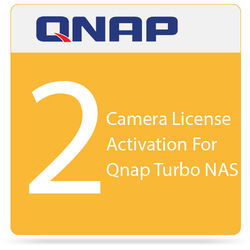 QNAP 2 Camera License Activation For Qnap Turbo NAS