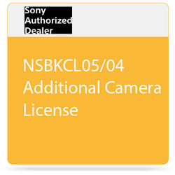 Sony NSBKCL05/04 Additional Camera License