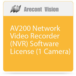 Arecont Vision AV200 Network Video Recorder (NVR) Software License (1 Camera)