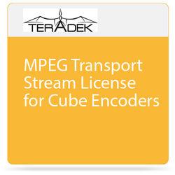 Teradek MPEG Transport Stream License for Cube Encoders