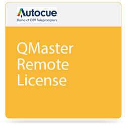 Autocue/QTV QMaster Remote License