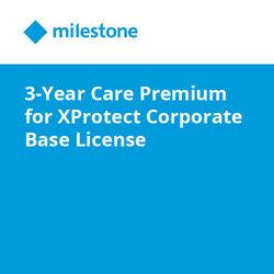 Milestone Care Premium for XProtect Corporate Base License (3-Year)