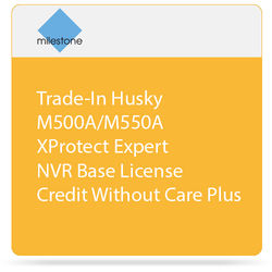 Milestone Trade-In of Husky M500A/M550A with XProtect Expert Base License without Care Plus