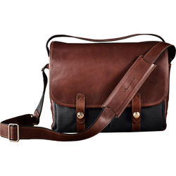 Oberwerth Porto Camera Bag (Black/Dark Brown)
