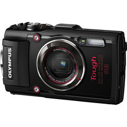 Olympus Stylus TOUGH TG-4 Digital Camera (Black)