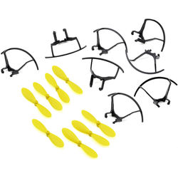 TX Juice Propellers & Propeller Protectors for Ai Drone (Set of 8)