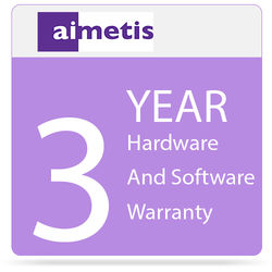 aimetis 3-Year Hardware and Software Warranty