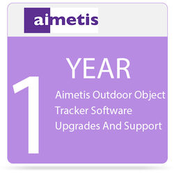aimetis 1-Year Outdoor Object Tracker Software Upgrades and Support for Select Axis Cameras