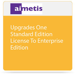 aimetis One Symphony 7 Standard Edition License Upgrade to Enterprise Edition